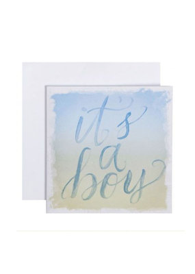 CR Gibson It's A Boy Card