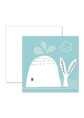 CR Gibson Whale Card