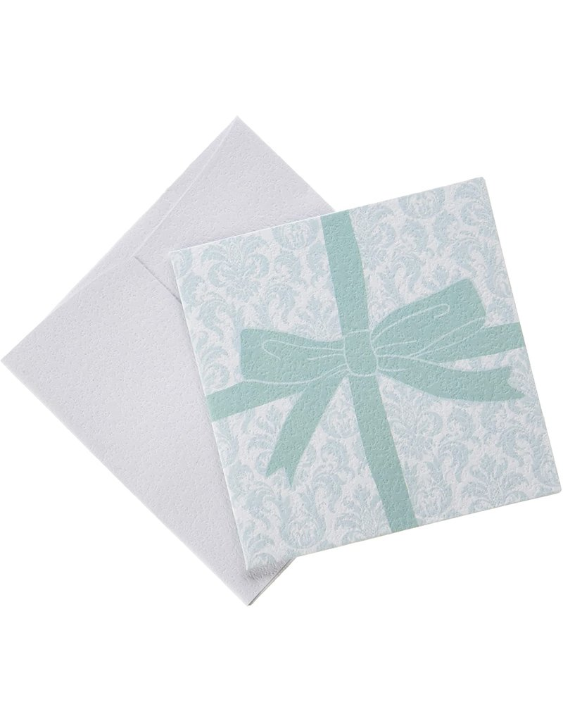 Green Bow Card