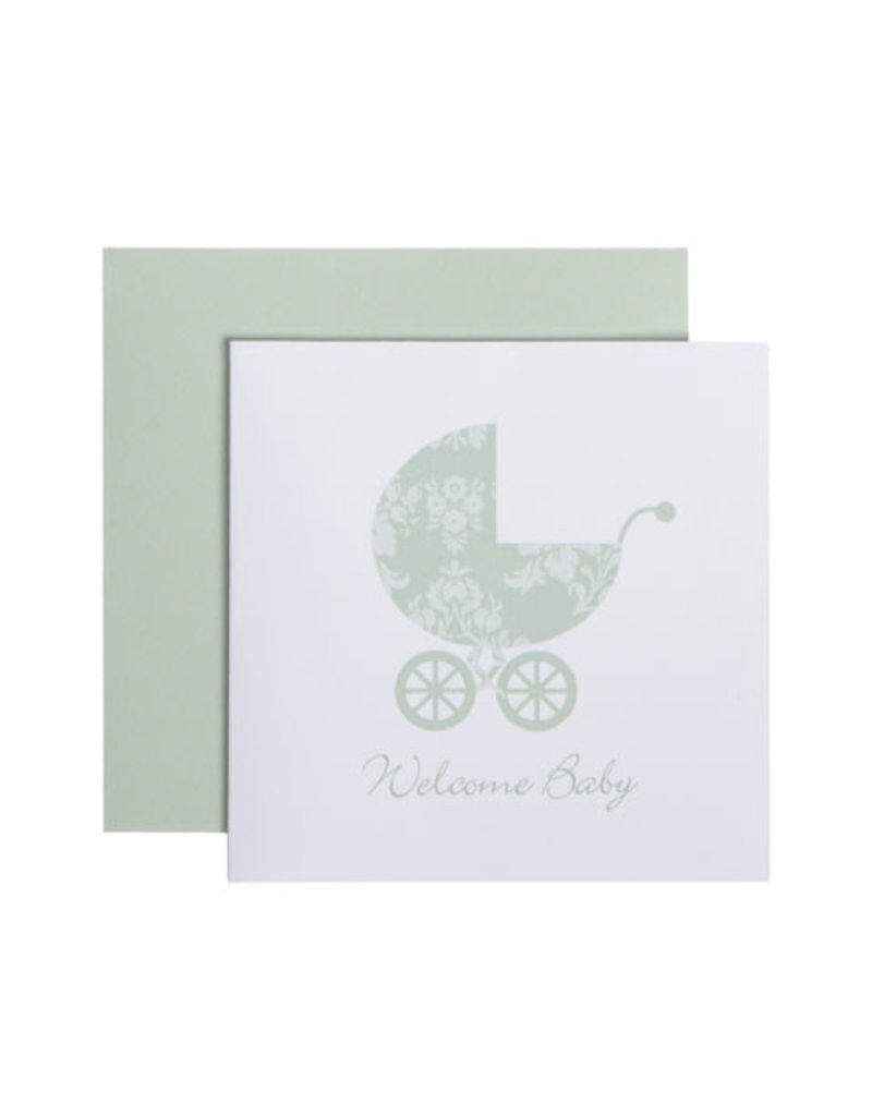 CR Gibson Welcome Baby Card