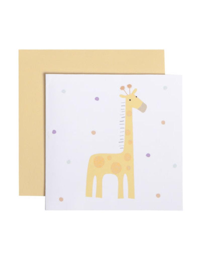 CR Gibson Giraffe Card