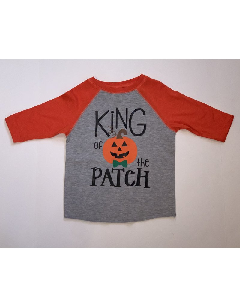 Tracy's Treasures King of the Patch Baseball Tee