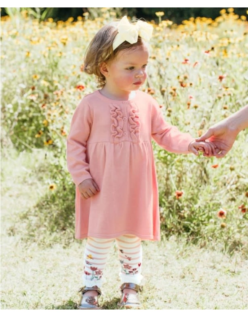 Ballet Pink Sweater Dress Toddler