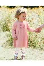 Ballet Pink Ruffle Sweater Dress Infant