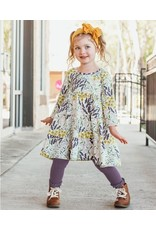 RuffleButts Walk in the Park Toddler Tiered Dress