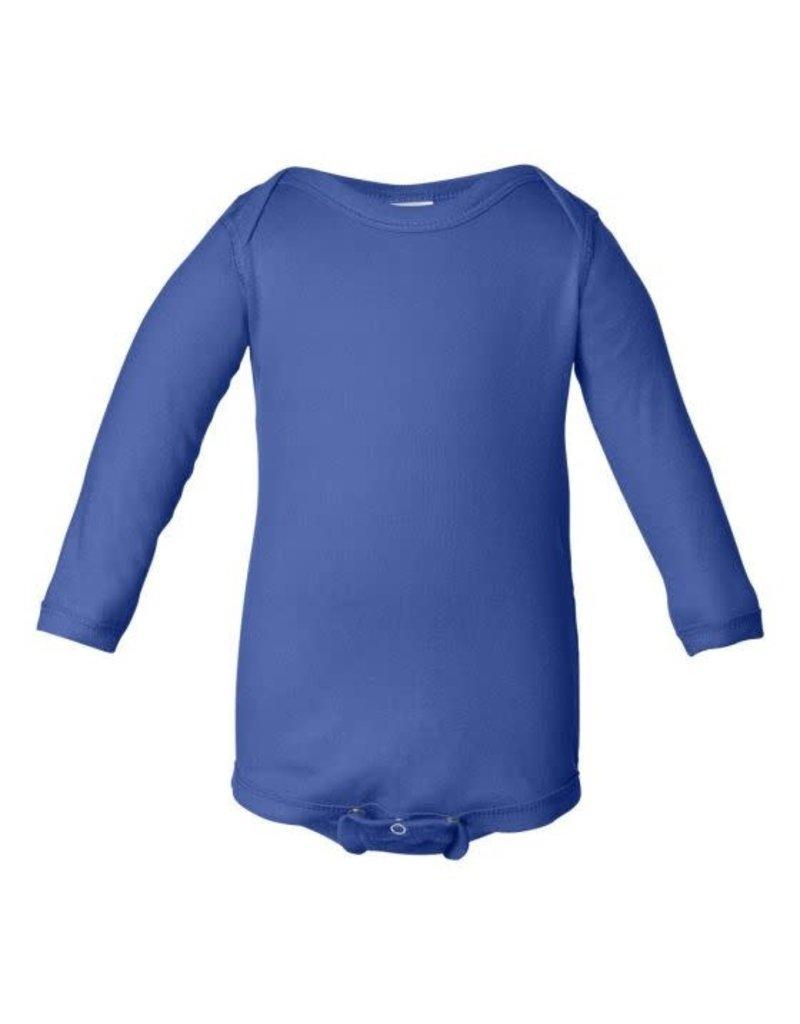 Royal Blue Long Sleeve Onesie