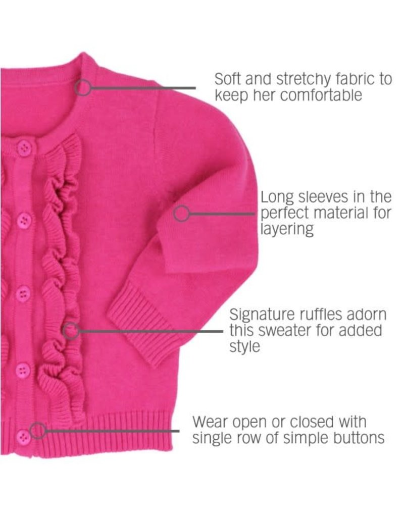 Candy Ruffled Cardigan Toddler