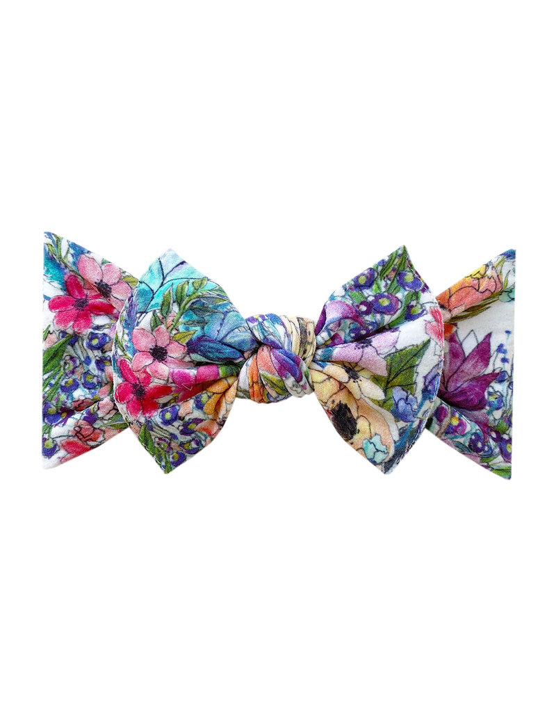 Baby Bling Printed Knot Waterlily