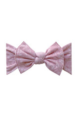 Baby Bling Printed Knot Mauve Branch