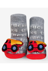 Red Truck Waddle Sock 0-12m