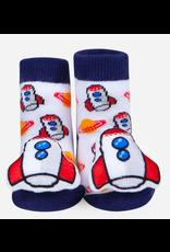 Rocket Ship Waddle Sock 0-12m