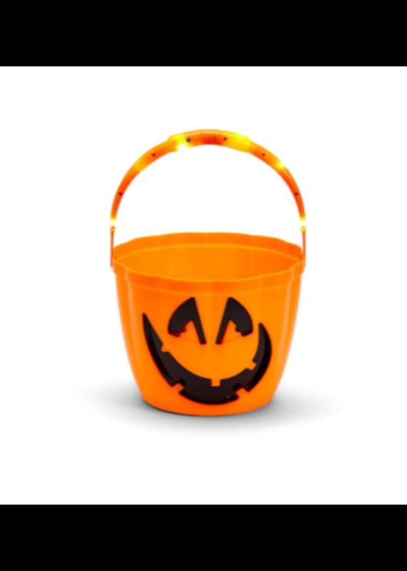 Jack-O-Lantern Light Up Bucket