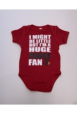 Huge Blackhawks Fan Short Sleeve Onesie