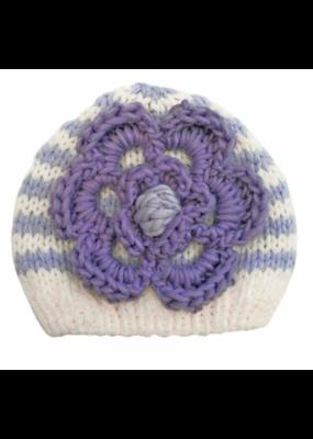 Periwinkle Ziggy Beanie Hat