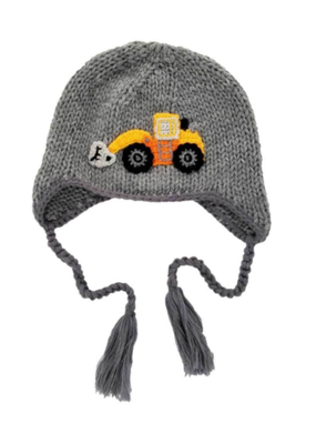 Digger Backhoe Beanie Hat
