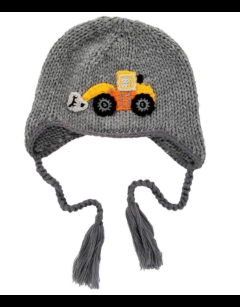 Digger Backhoe Beanie Hat