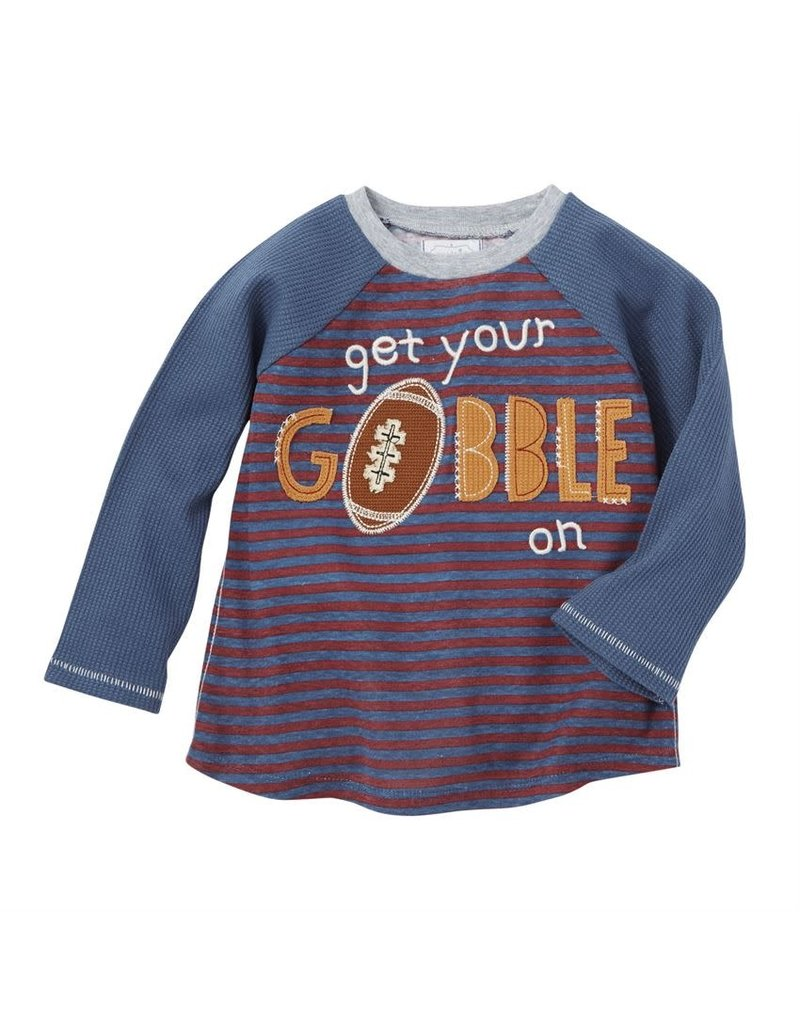 MudPie Get Your Gobble On Shirt 12-18m
