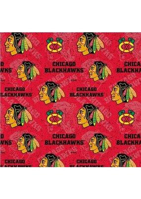Chicago Blackhawks Red Mask