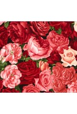 Rose Treasures Floral Face Mask