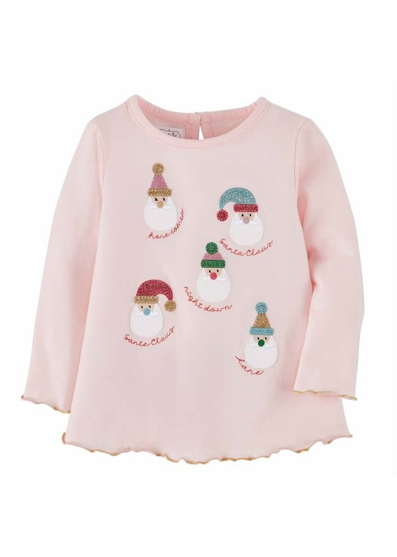 Girls Pink Christmas Tunic