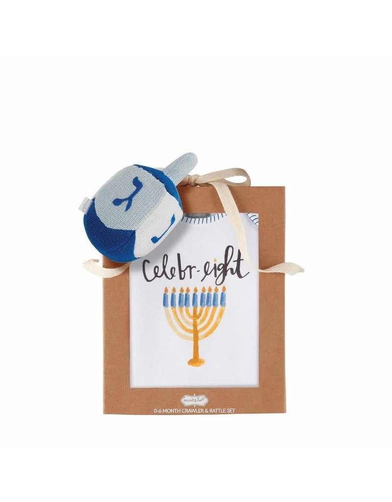 Hanukkah Knit Raffle Gift Set 0-6m