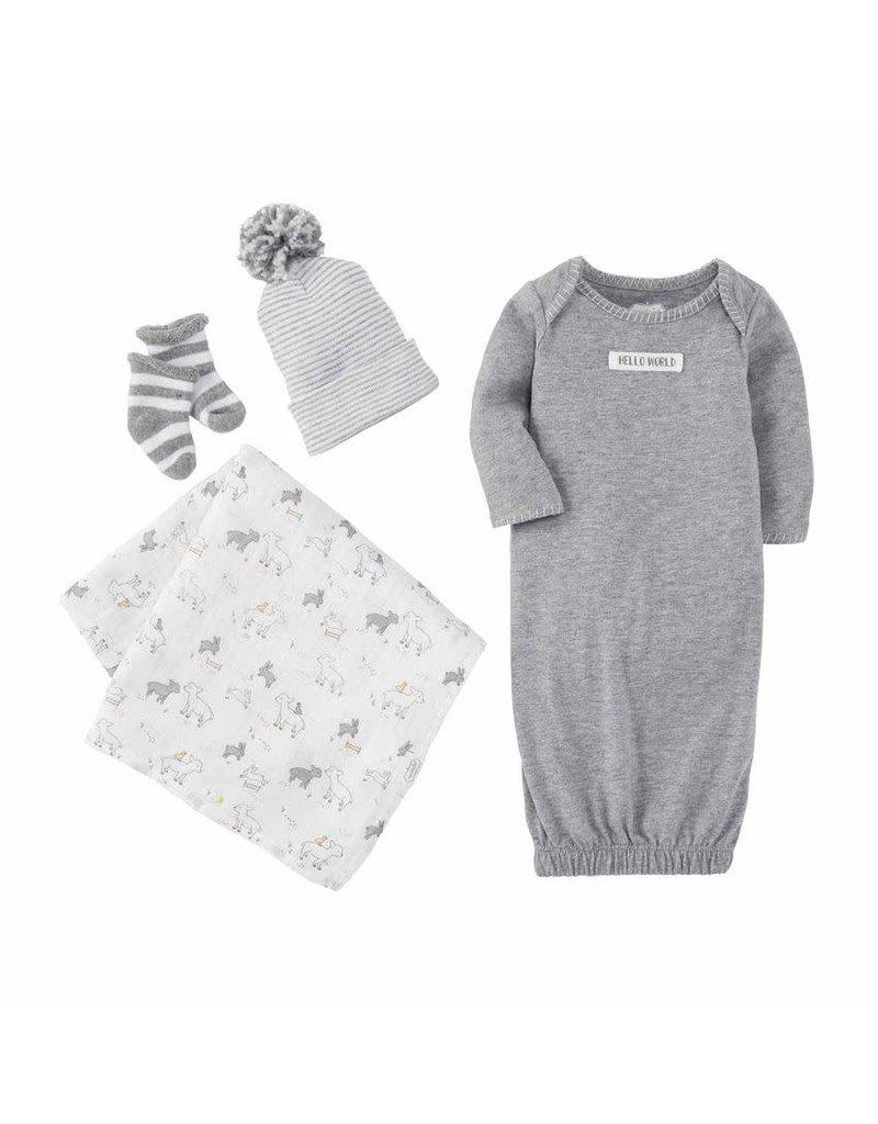 Grey Newborn Take Me Home Set