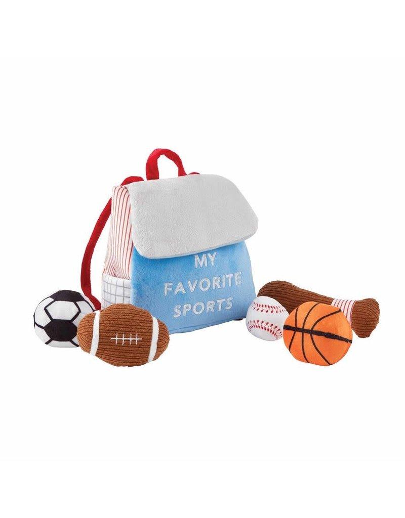 My Favorite Sports Plush Set