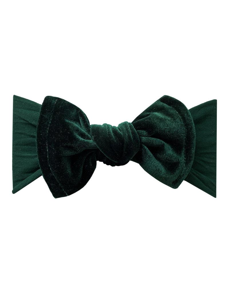 Velvet Knot Forest Green