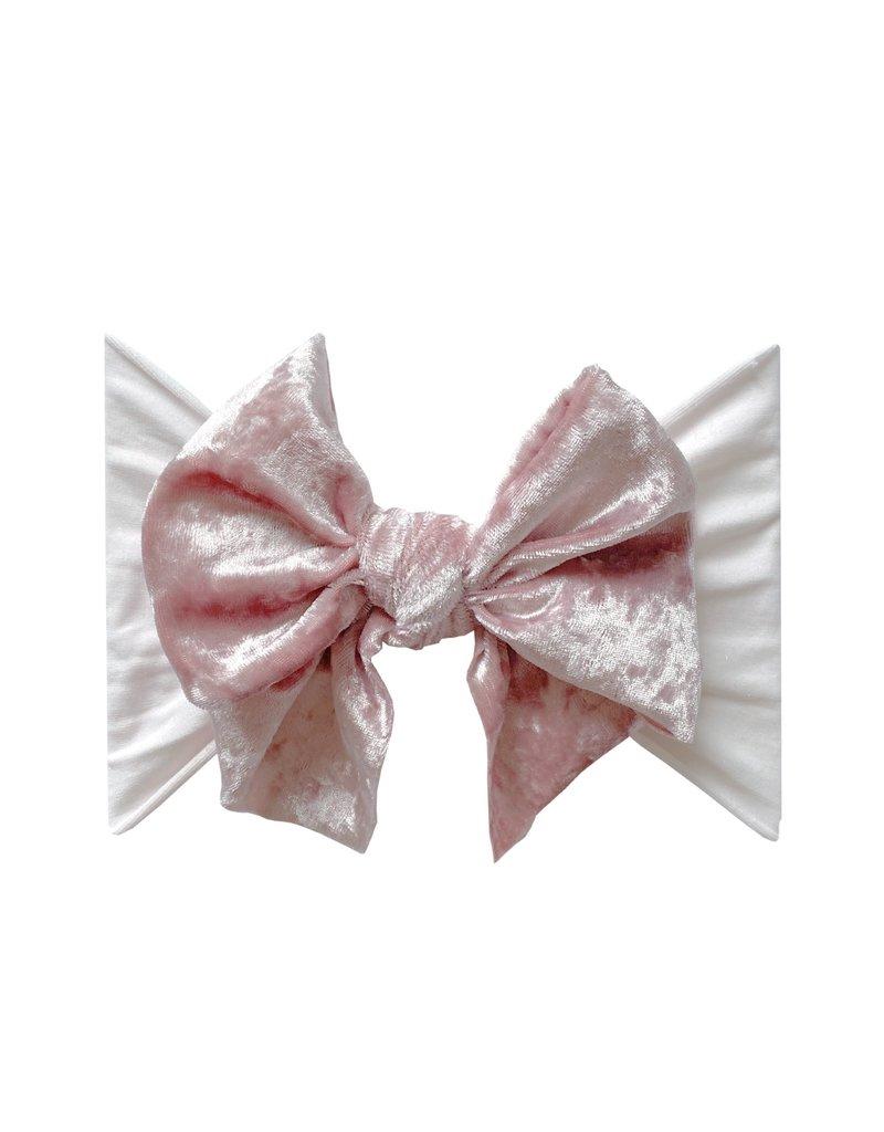 Baby Bling Velvet Fab Ballet Pink