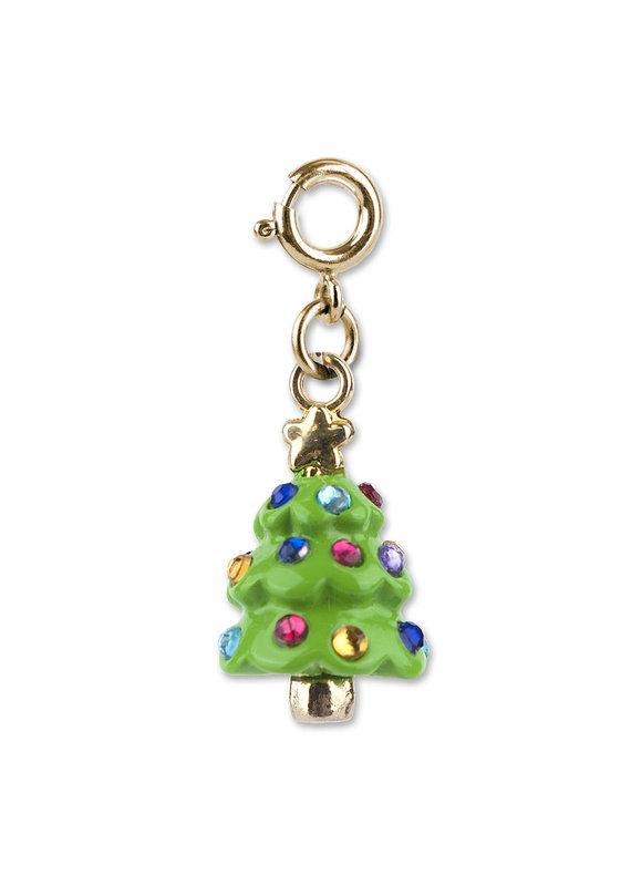 CHARM IT! Gold Christmas Tree Charm