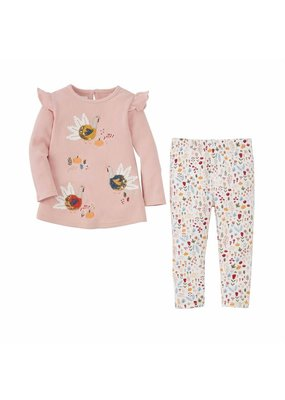 MudPie Turkey Tunic and Legging Set