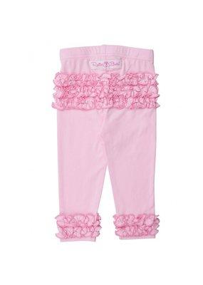 Pink Ruffled Leggings