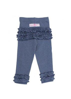 RuffleButts Everyday Leggings Faux Denim Infant