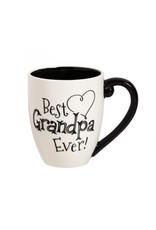 Black Ink Ceramic Coffee Mug Grandpa