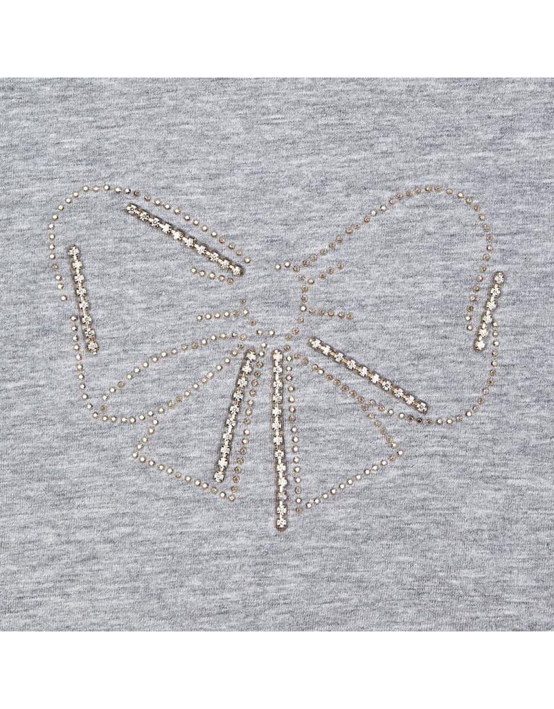Silver Long Sleeve Basic T-Shirt