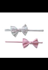 2 Pack Mini Print Skinny Chamomile Pink