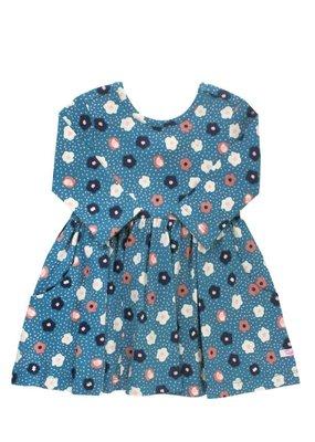 RuffleButts Poppy Seed Twirl Dress
