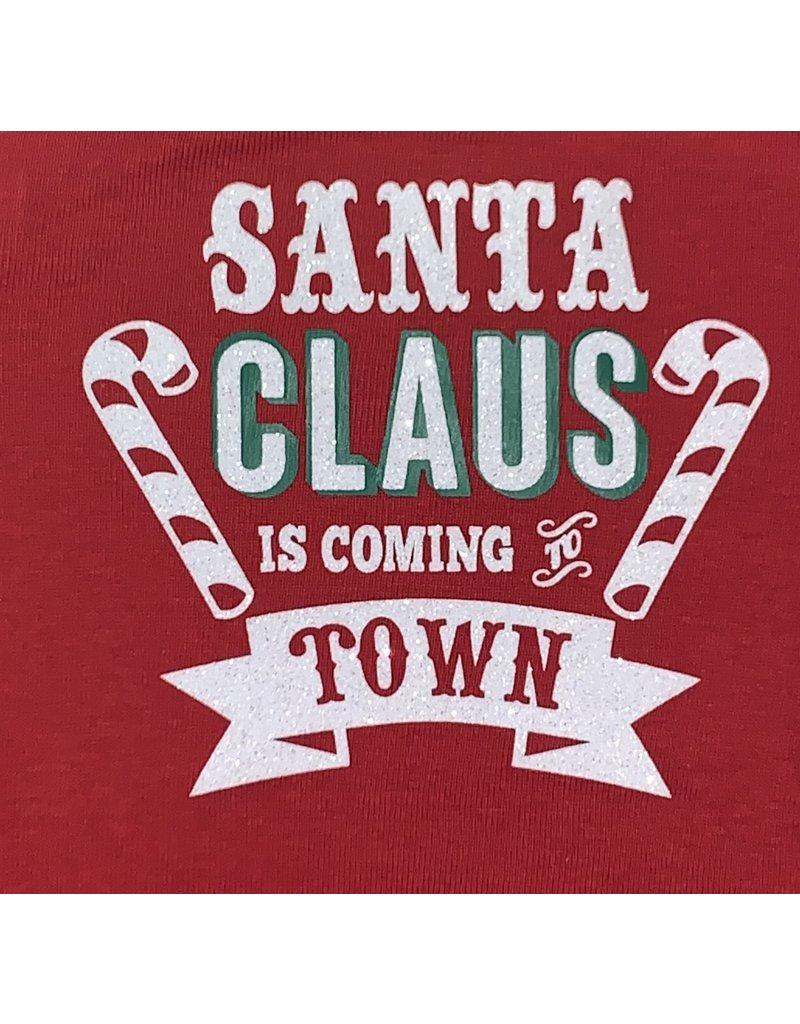 Santa Claus is Coming to Town Glitter