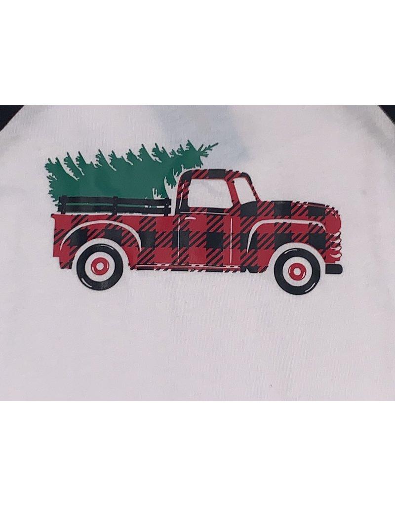 Tree Truck Baseball Tee