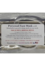 Tossed Harvest Apples Face Mask