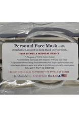 Marble Sky Batik Face Mask Adult