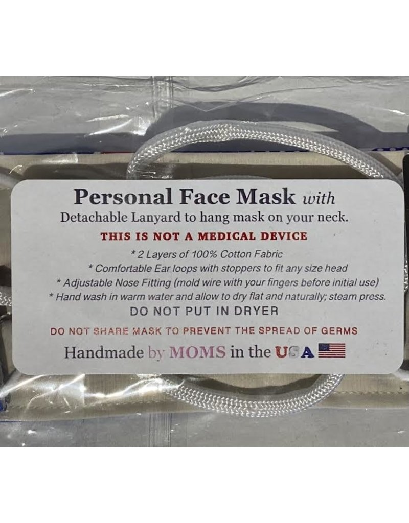 Solid Gray Face Mask Adult