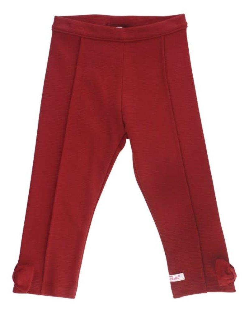 Cranberry Ponte Pants Infant