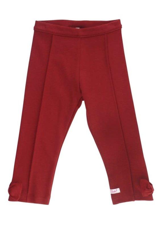 Cranberry Ponte Pants Toddler