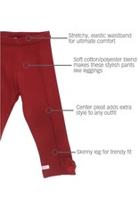 Cranberry Ponte Pants Toddler