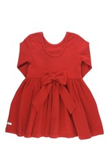 Red Twirl Dress