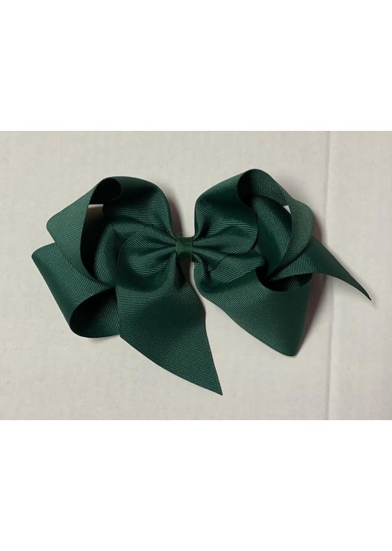 Forrest Green Giant (7in) Grosgrain Bow
