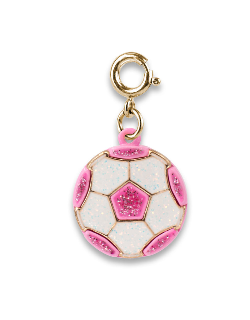 CHARM IT! Gold Glitter Soccer Ball Charm