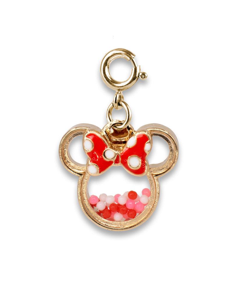 CHARM IT! Gold Minnie Shaker Charm