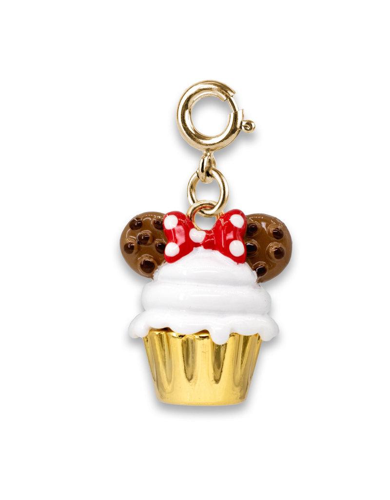 CHARM IT! Gold Minnie Cupcake Charm